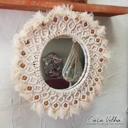 Espelho Macramé