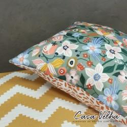 Capa de Almofada Flowers & Co