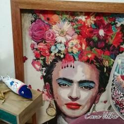 Quadro Frida Kahlo XL ||...
